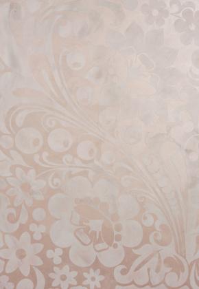 Декоративная краска Сатин + Декоративная штукатурка Венецианская (Трафарет)
